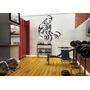 Adesivo Decorativo Musculação Gigante - Frete Gratis