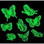 Adesivo Fluorescente Borboletas Neon Estrela