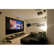 Adesivo Decorativo Take Cinema - Rolo De Filme 54cm X 190cm