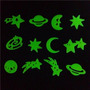 Estrela Saturno Lua Terra Cometa Fluorescentes P/ Decoração