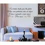 Adesivo Decorativo Como E Grande O Meu Amor (88x32)cm
