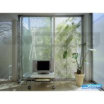 Adesivos Decorativo Bambu Chines Jateado Para Box/vidro