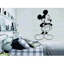 Adesivo De Parede Quarto Infantil Mickey Mouse Disney
