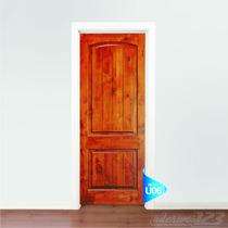 Adesivo Para Porta Parede Porta Madeira Fosco U06