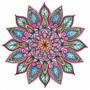 Adesivo Decorativo Parede Teto Quarto Mandala Tam: 1mx1m