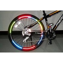 Kit Adesivo Bicicleta Bike Decorativo P/ Pneu + Frete Grátis