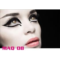 Adesivo Painel Poster Salao Maquiagem Make Up Maq08