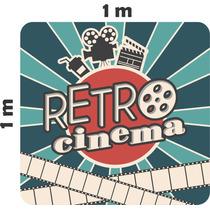 Adesivo Decoração Parede Cinema Retrô Filme Claquete
