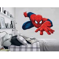 Adesivo De Parede Quarto Infantil Super Herói Homem Aranha