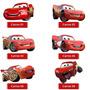 Adesivo Carros Da Disney Todos Os Personagens Recortados 1x1