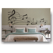 Adesivos Decorativos Notas Musicais - Frete Gratis