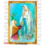 2477- Quadros Em Azulejos Nossa Senhora De Lourdes