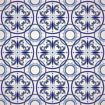 Adesivo Parede Faixa Ladrilho Azulejo Português - Kit 7 Un