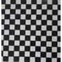 Mosaico, Pastilha Piso Esmaltado Branco E Preto Frete Grátis
