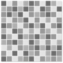Pastilhas De Vidro Colortil Miscelânea Mix Placas 30 X30 Cm