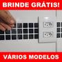 50 Adesivos + Brinde + Frete Grátis - Faixa De Cozinha