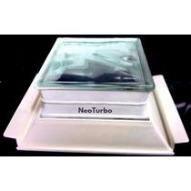 Kit 6 Tijolo Vidro + Suporte E Prolongador H12 P/ Laje Solar