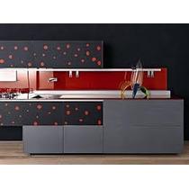 Adesivo Decorativo P/ Geladeira E Móveis Bolinhas Coloridas