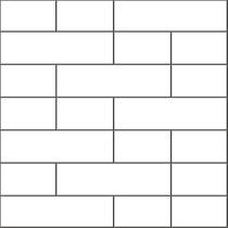 Pastilha De Parede Tijolinhos Branco (caixa Com 4 Placas)