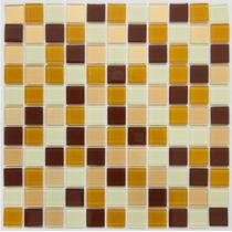 Pastilhas De Vidro Miscelânea Mix Colortil Placas 30 X30 Cm