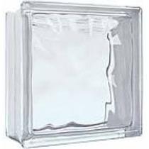 Kit 6 Peças Tijolinhos De Vidro Incolor Para Casa