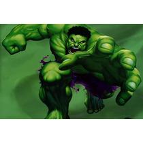 Painel Decorativo Festa Infantil David Banner Hulk (mod1)