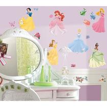 Adesivo Decorativo Reposicionável - Disney Princesas - Prin