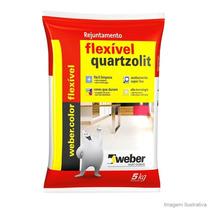 Rejunte Flexível Quartzolit 5 Kg - Cor Bege (promoção!!)