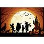 Painel Decorativo Festa Infantil Halloween Dia Bruxas (mod6)