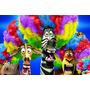 Painel Decorativo Festa Infantil Filme Madagascar (mod2)