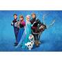 Painel Decorativo Festa Infantil Aniversário Frozen (mod1)