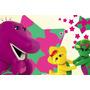 Painel Decorativo Festa Infantil Barney E Seus Amigos (mod3)