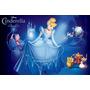 Painel Decorativo Festa Infantil Princesa Cinderella (mod5)