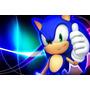 Painel Decorativo Festa Infantil Sonic (mod4)