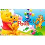 Painel Ursinho Pooh Festa Aniversário Poster 160x94cm