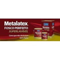 Tinta Acrilica Metalatex Fosco Super Lavavél Areia 18 Lt