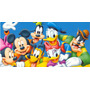 Painel Decorativo Festa Turma Do Mickey [2x1m] (mod2)