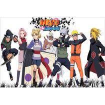 Painel Decorativo Festa Infantil Anime Naruto (mod4)