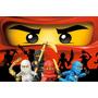 Painel Decorativo Festa Infantil Lego Ninjago (mod2)