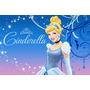 Painel Decorativo Festa Infantil Princesa Cinderella (mod1)