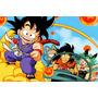 Painel Decorativo Festa Infantil Dragon Ball Goku (mod1)
