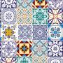 Papel De Parede Azulejos Português Z01 Adesivo Fosco