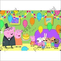 Painel Pepa Pig Festa Infantil, Aniversarios, Decoração