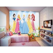 Papel De Parede Princesas Disney Muitos Modelos - M²
