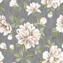 Papel De Parede Floral Tecido 10 Metros Contact