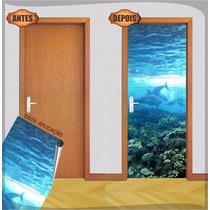Adesivo Decorativo Para Porta + Brinde