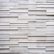 Papel De Parede Pedras Canjiquinha Branca Retangular 3d