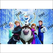 Painel Infantil Frozen, Decoração E Aniversario, Promoçao