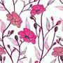 Papel De Parede Floral 51 Contact