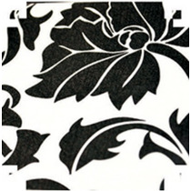 Papel Contact ( Auto-adesivo / Parede) Floral P/b - 10 Mt